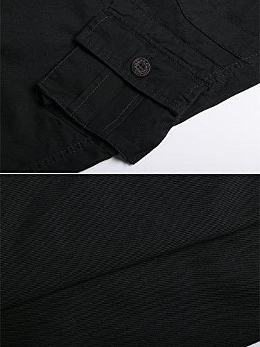 OCHENTA Military Cargo Pants, #3357 36