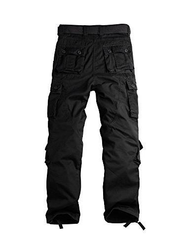 OCHENTA Men's Cargo 8 Pockets Casual Combat #3357