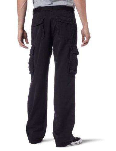 Unionbay Cotton Survivor Cargo Pant, Belt, 36x34