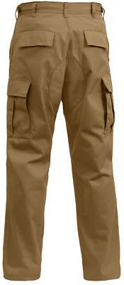 Coyote Brown Military BDU Cargo Polyester Cotton Fatigue Pan