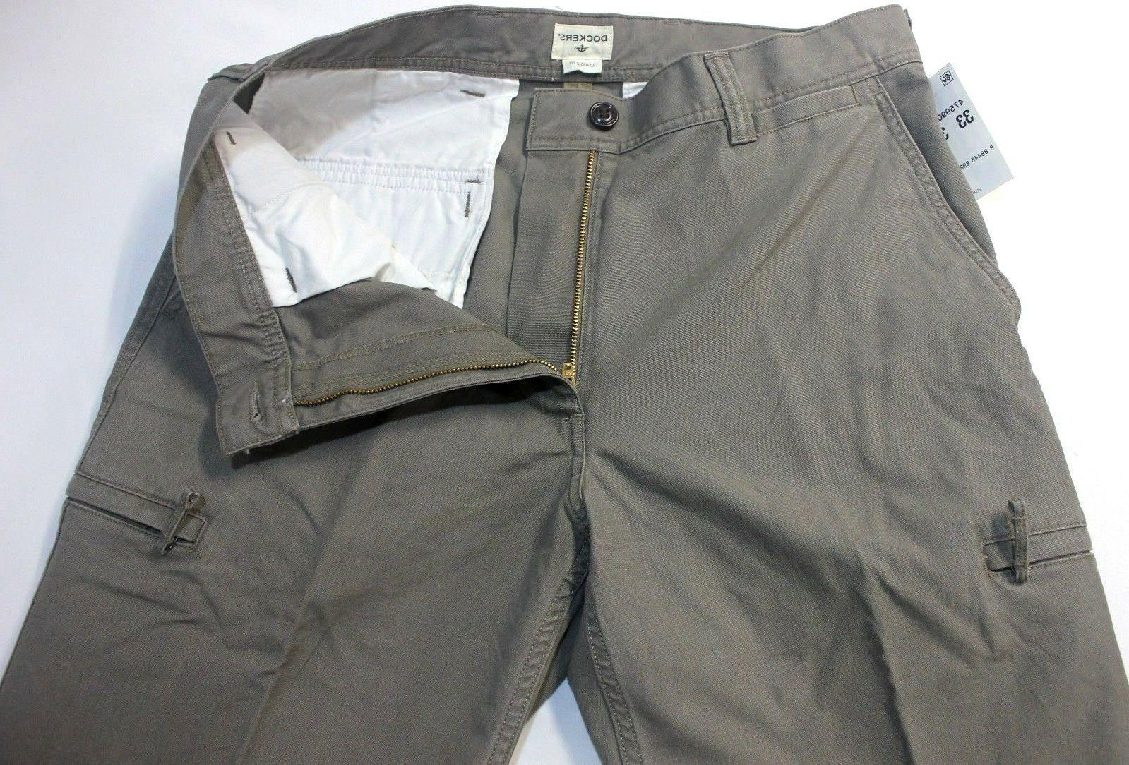 Dockers Crossover Classic-Fit Concrete