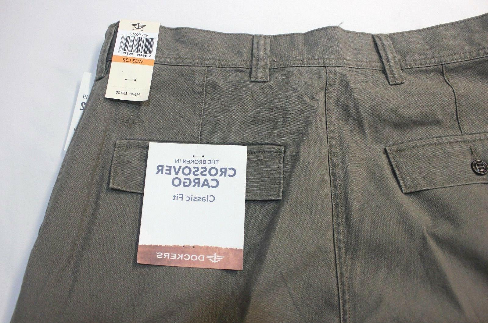 Dockers Concrete Flat-Front Pants