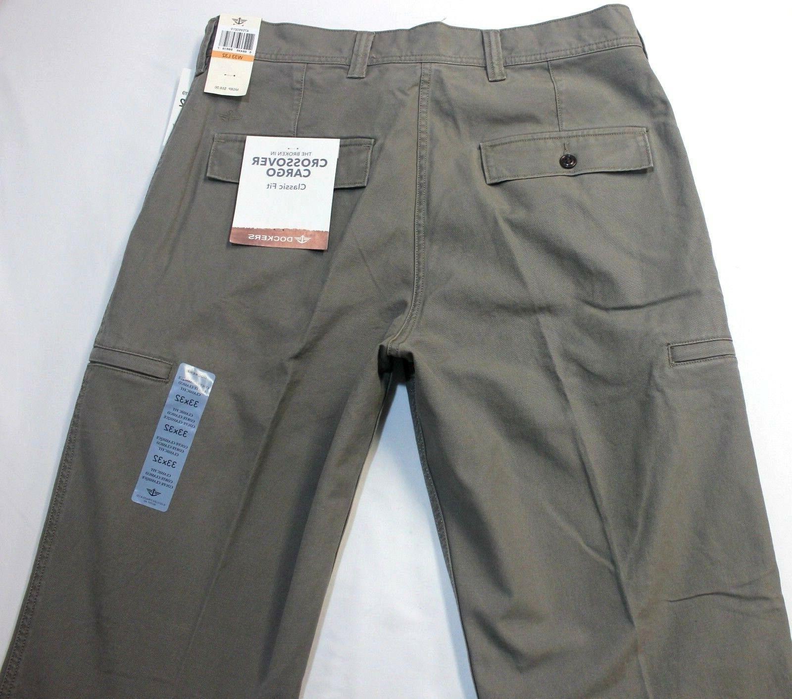 Dockers D3 Concrete Flat-Front Cargo Pants