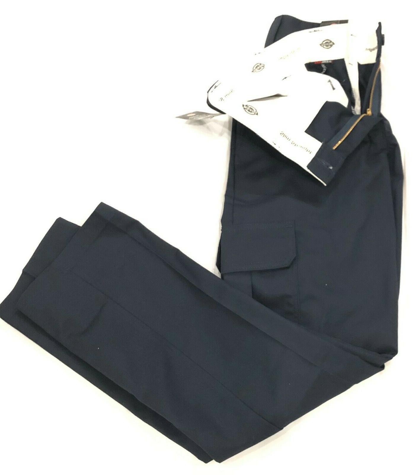 Dickie's Slim Straight Pants Blue NWT Cargo