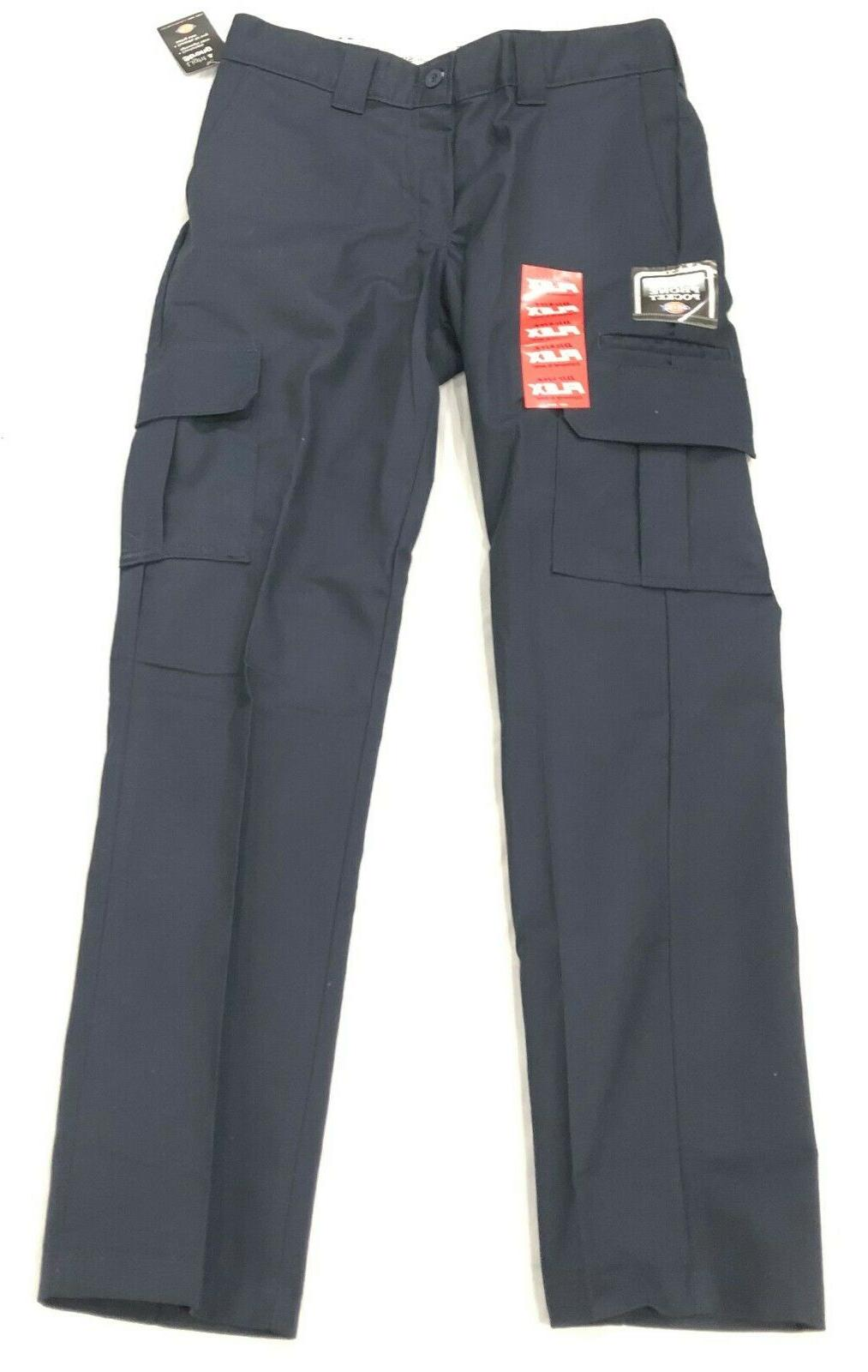 dickie s slim and straight pants blue