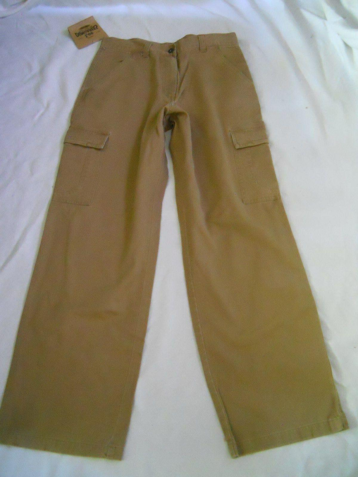 Lee Dungarees Cargo Pants Size 32 x 33 Pockets Flat Front Br
