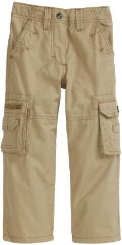 Lee Little Boys' Dungarees Explorer Cargo Pant, Camel, 6 Reg