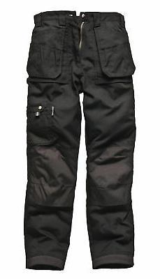 Dickies Eisenhower Multipocket Work Trousers Black Navy EH26