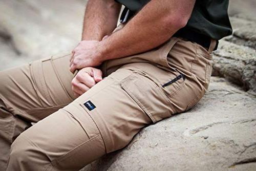 LA Gear Men Ops Tactical Pant Navy-36 x 30