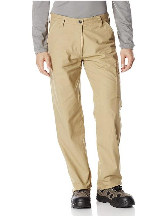 Caterpillar Work Pants Mens CAT DL Trouser Oxford Tan Kelp C