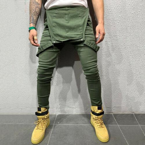 Fashion Jeans Slim Suspender