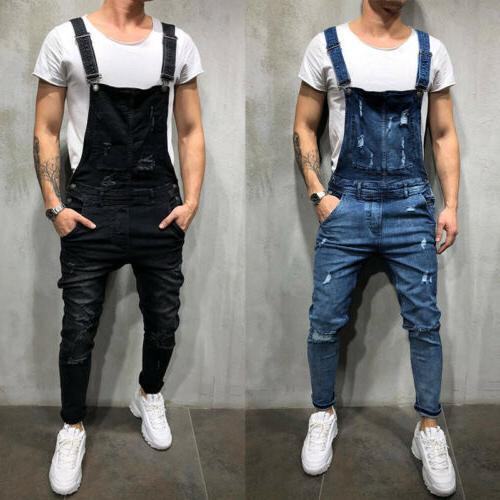 Men Distressed Skinny Jean