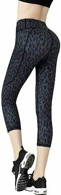 FITTIN Women's Workout Leggings with Pocket - Yoga Pants for