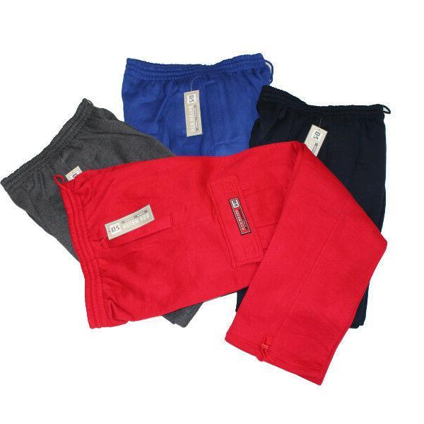 fleece cargo pants sweats