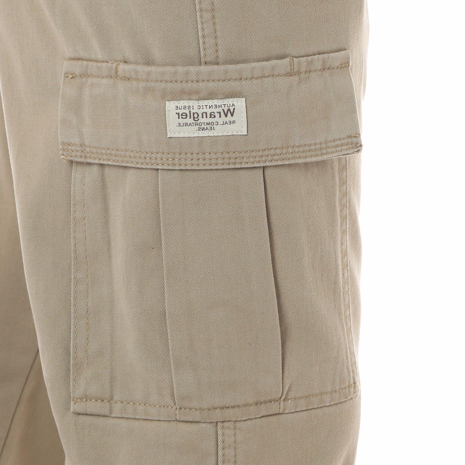 Wrangler Fleece Lined Cargo Pants Fit Work Mens