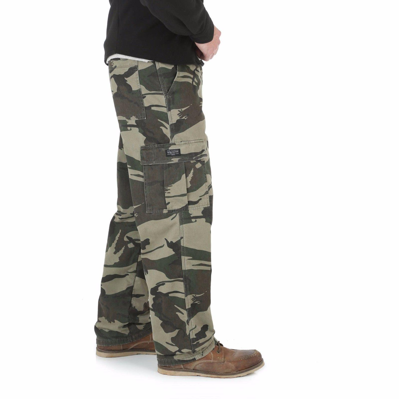 Wrangler Lined Pants Fit Work Fishing Hunting Mens