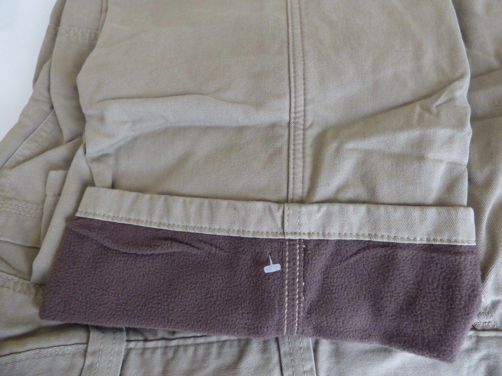 Wrangler Fleece Lined Pants - Work Fishing Hunting Mens