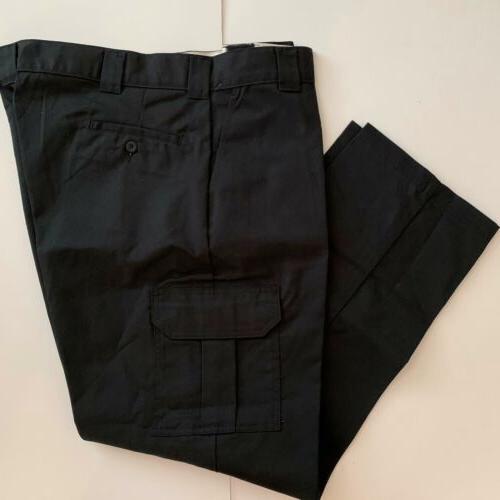 Dickies Slim Fit Straight Leg Black WP594BK 44x32 New