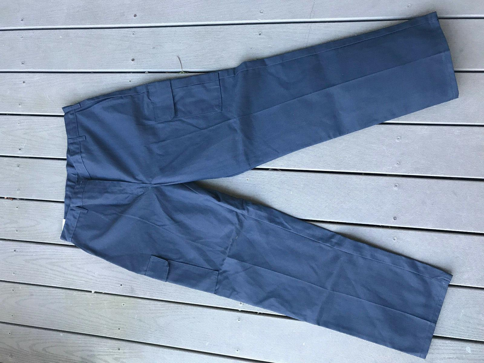 Genuine Dickies relaxed fit cargo sizes