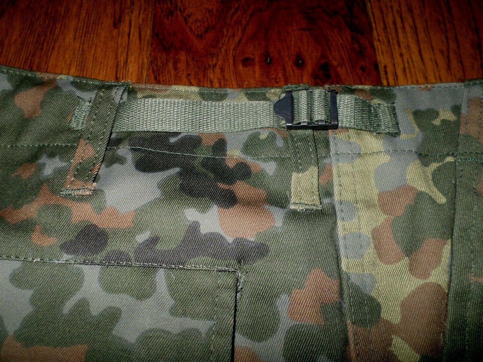 GERMAN FLECKTARN CAMOUFLAGE MILITARY BDU POCKET