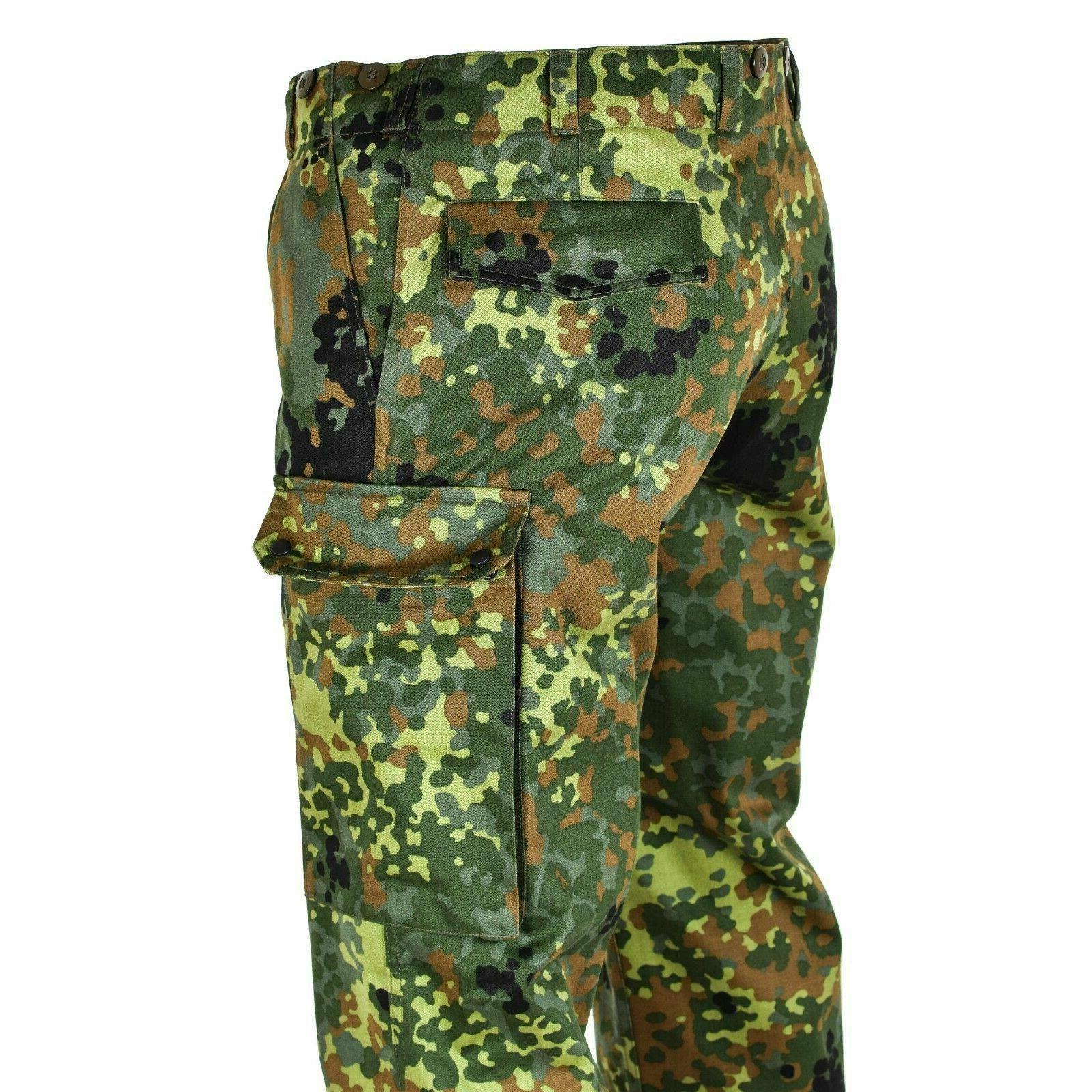GERMAN FLECKTARN CAMOUFLAGE MILITARY CARGO 6