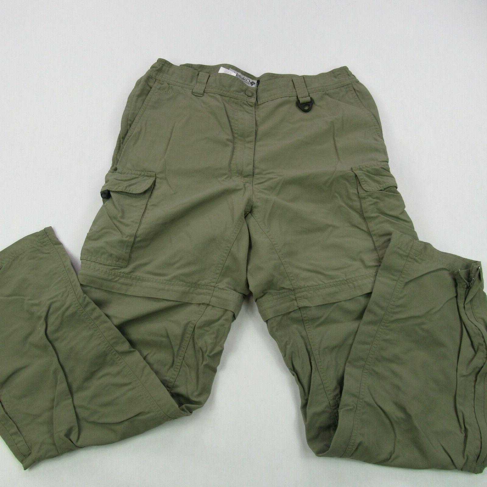 grt mens size medium green cotton cargo