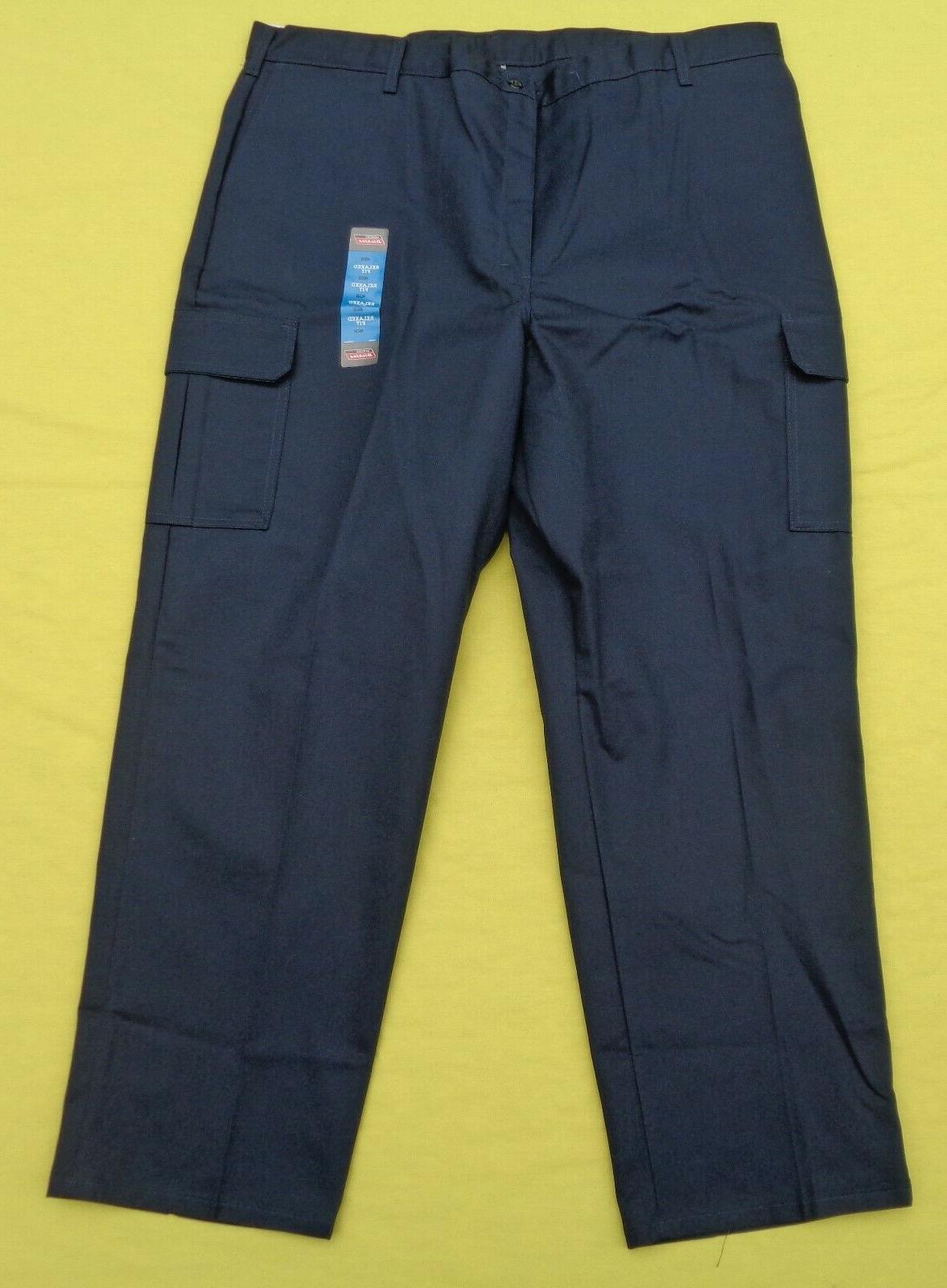 DICKIES HN41 Pants Navy Fit x 32 NWT