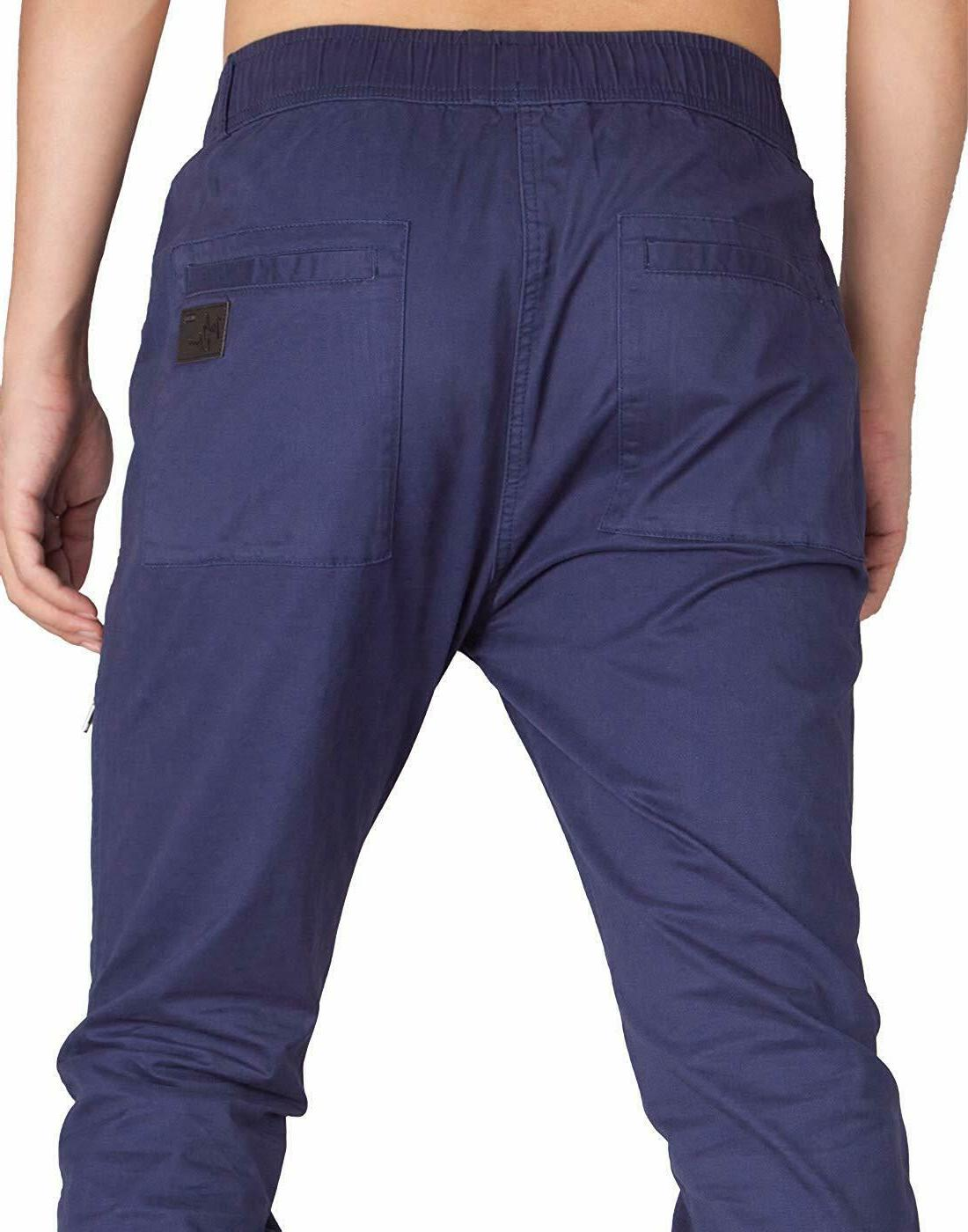 ITALY MORN Men's Cargo Pants Ankle Zipper