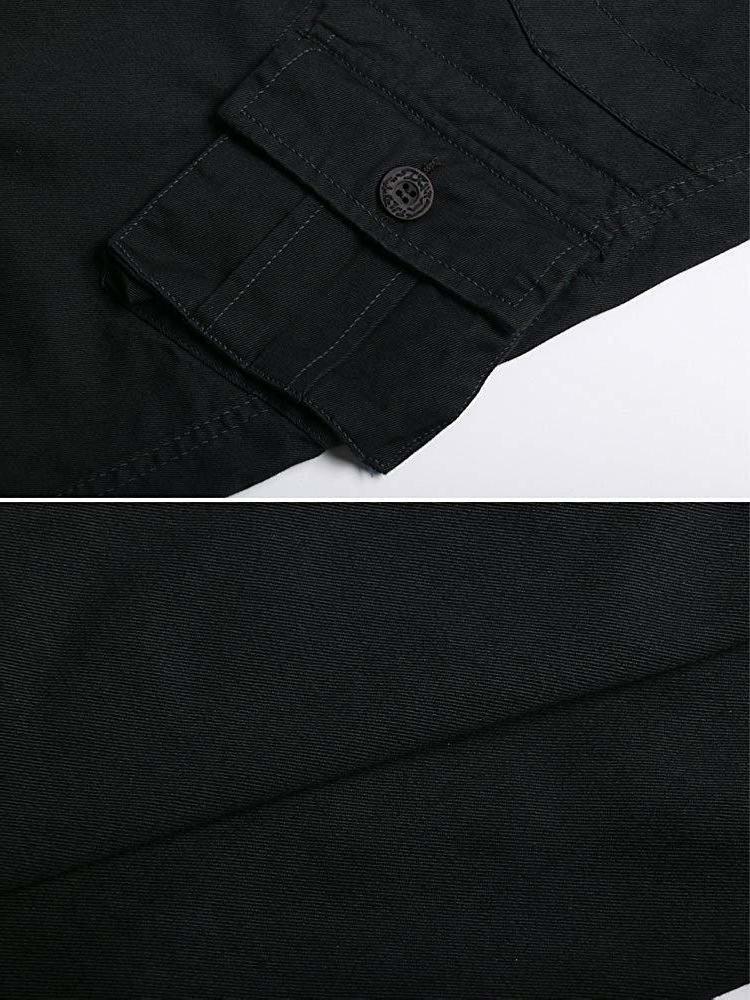 OCHENTA Men's Cotton Cargo Pants, Casual