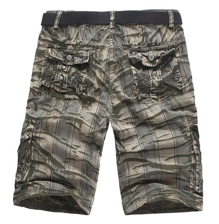 Korean Camouflage Loose Pants Young Shorts