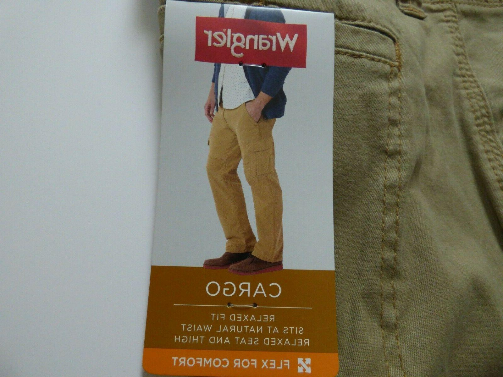 NEW Mens Fit Cargo Pant with Stretch