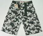 Levi's Boys Kids Camo Cargo Shorts Short Pants 14 Regular W