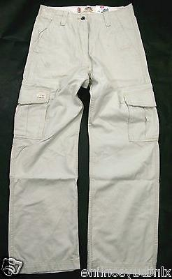 Levi's Loose Fit Straight Leg Ivory Cotton Levis