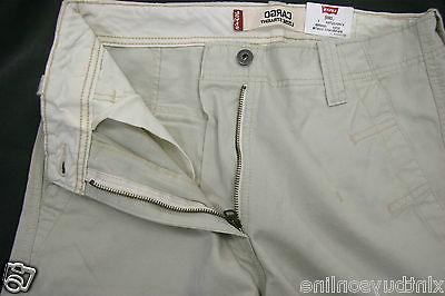 Levi's Fit Straight Ivory Cotton Levis