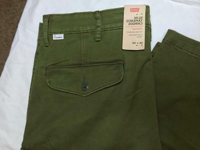 levi s slim tapered cargo pants jeans
