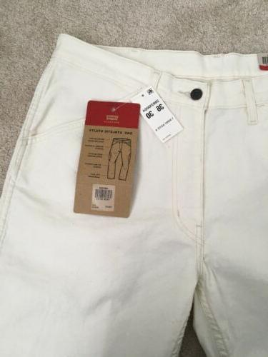 Levis 505 Pants Jeans White Denim Workwear