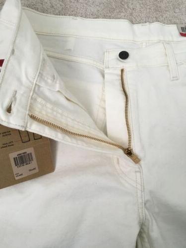 Levis Jeans Mens Size White