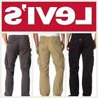 Levis Men's Relaxed Fit Ace Cargo Pants Grey Black Beige 30