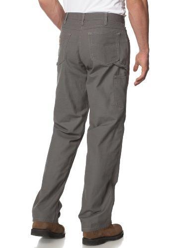 Carhartt Men's Fit Canvas Five Pocket B159,Charcoal,34