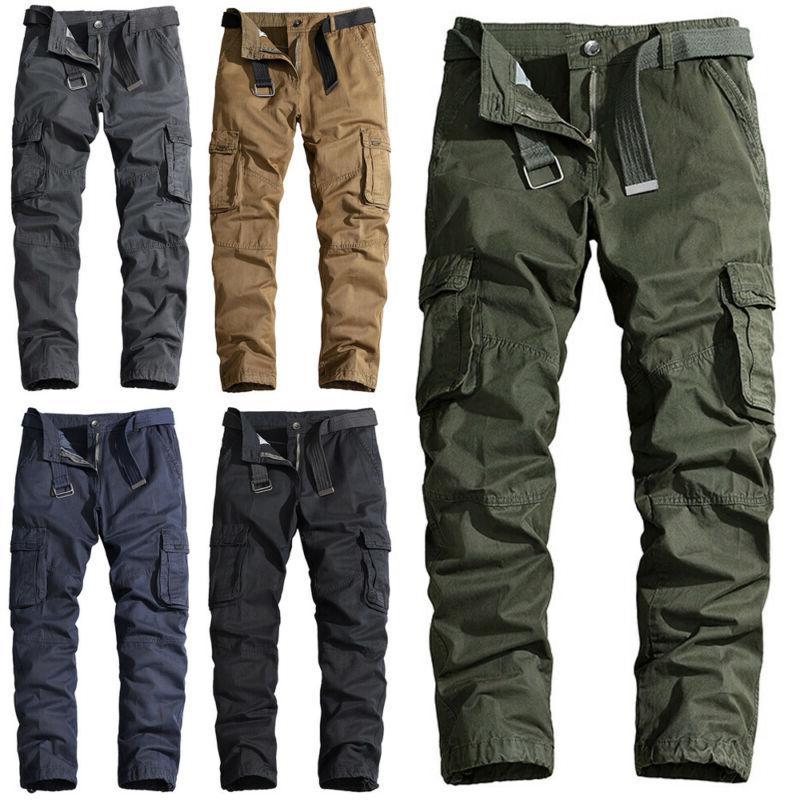 Men Cargo Casual Tactical Pant Military