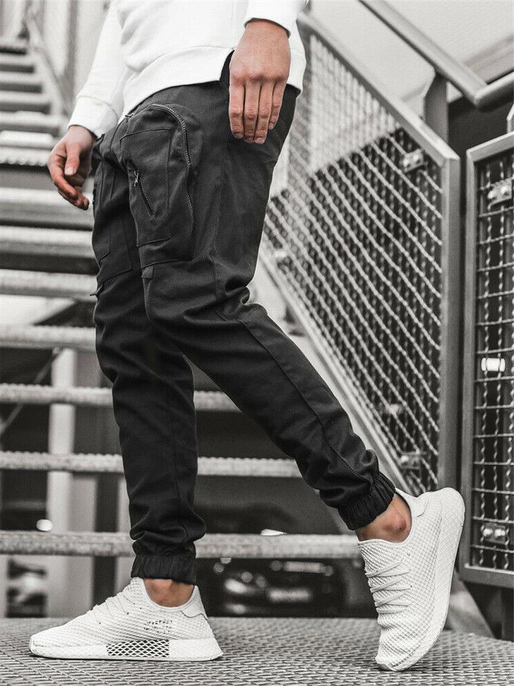 Men Pants Sweatpants Combat Active Sports Trousers