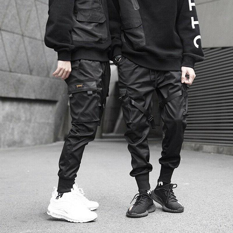 Men Cargo Pants Sport Trousers