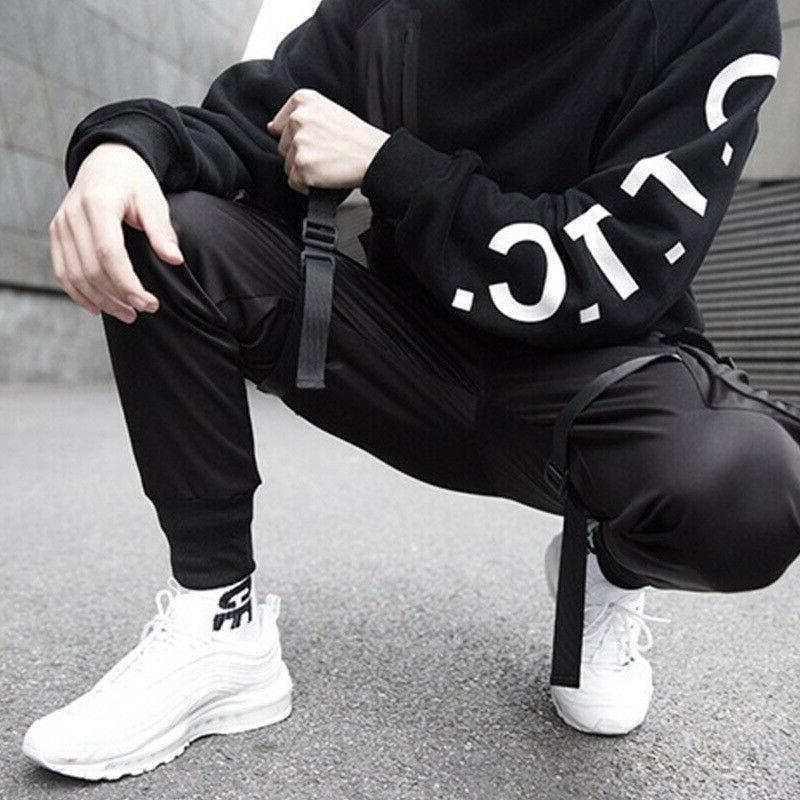 Men Casual Streetwear Cargo Pants Sport