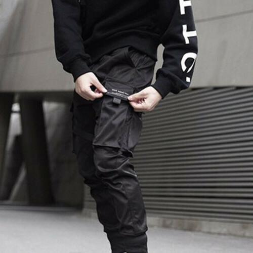 Men Black Street Hip Hop