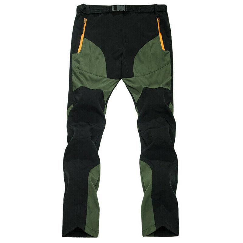 Mens Army Cargo Elastic Pockets