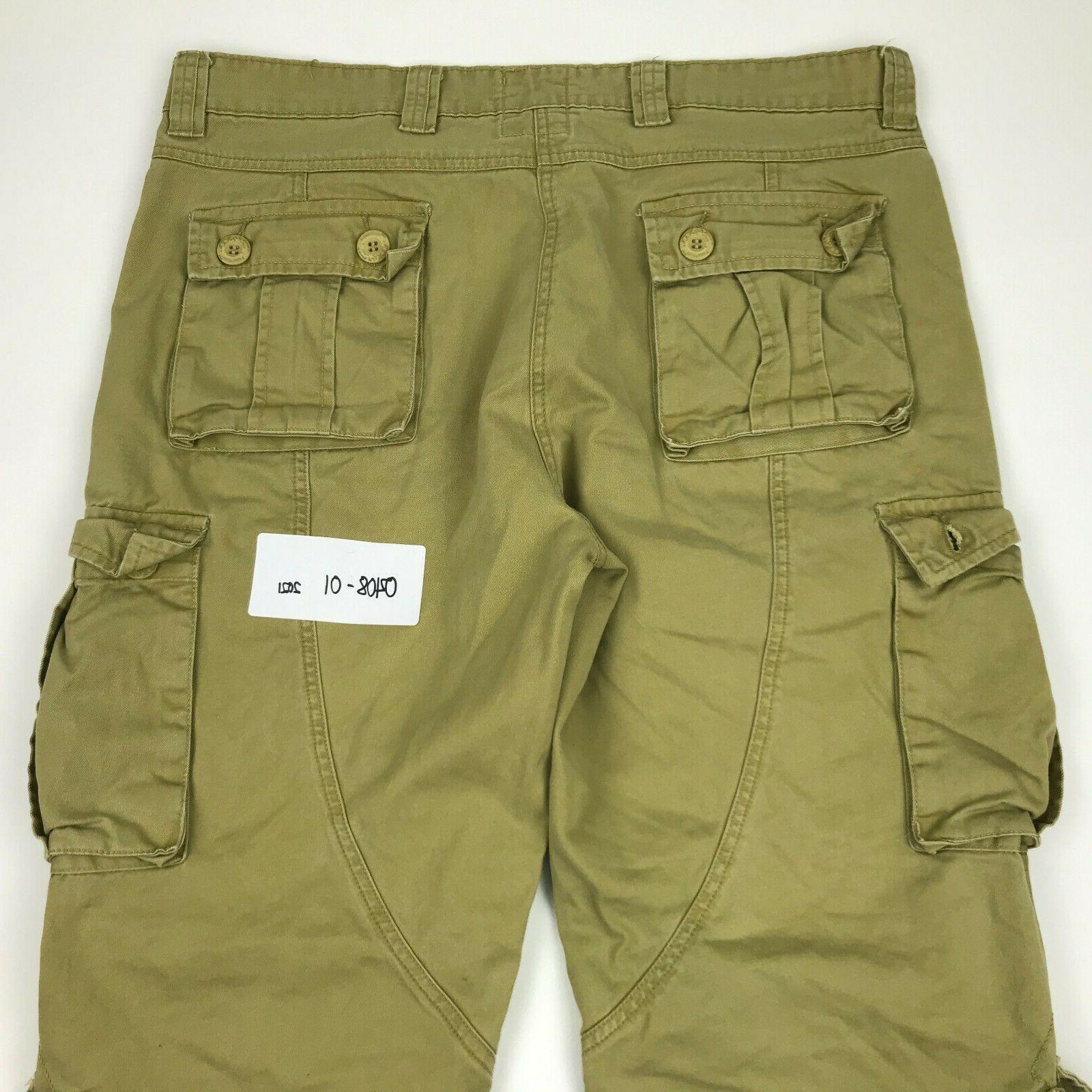 Must Way Men Khaki 8 Pockets