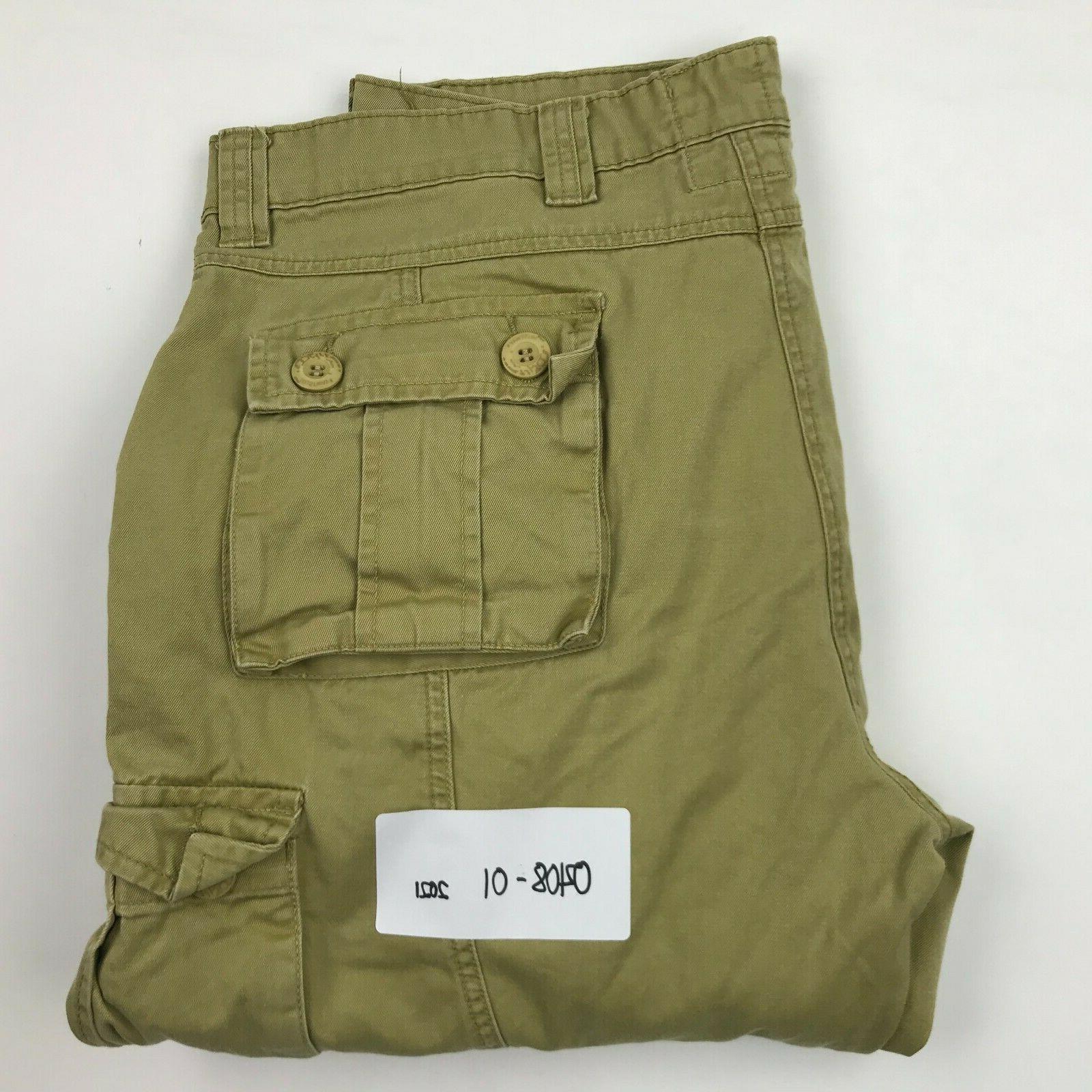 Must Way Khaki 8 Pockets Cargo