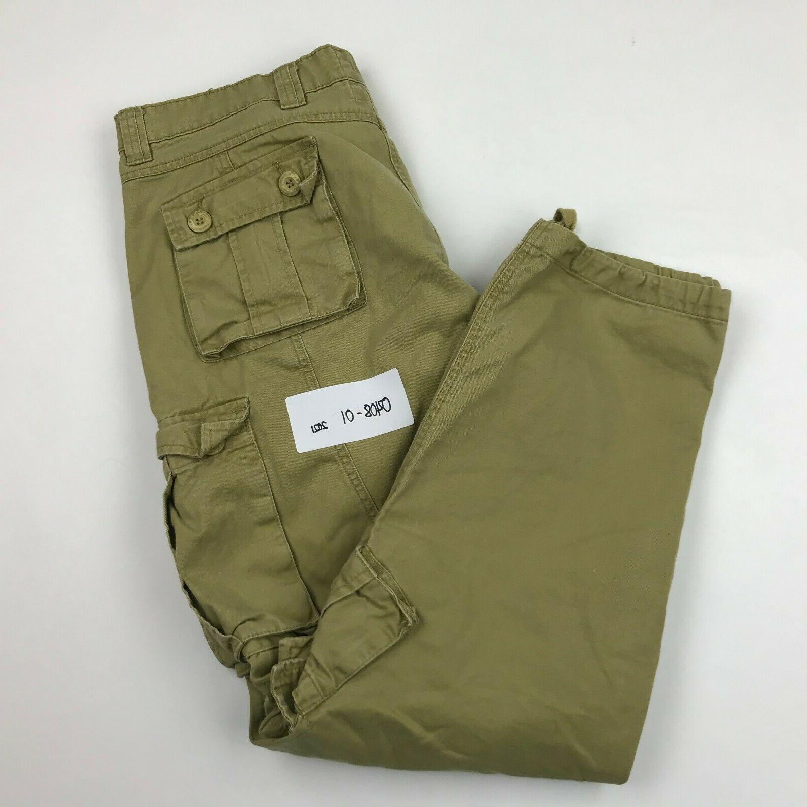 Must Way Men Khaki 8 Cargo Pants
