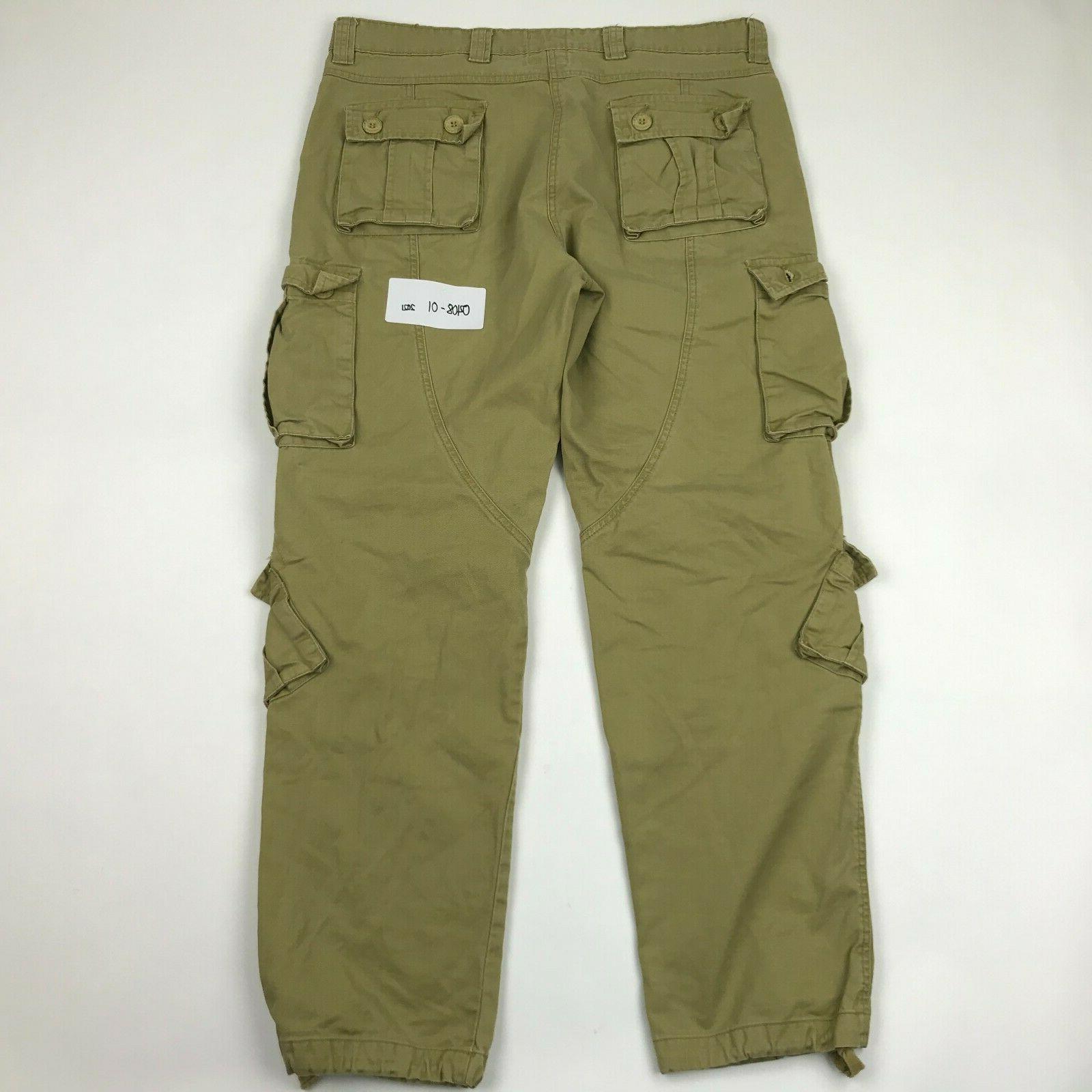 Must Way 8 Pockets Tactical Cargo sz 36