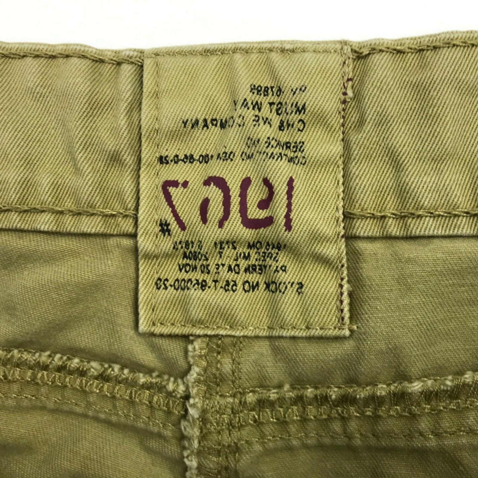 Must Way Men 8 Pockets Cargo Pants sz 36